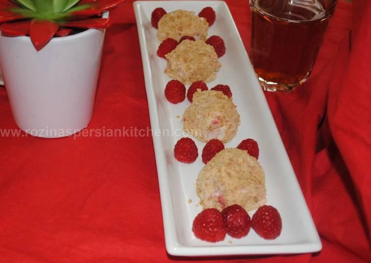Step-by-Step Guide to Prepare Super Quick Homemade No bake Raspberry cheesecake bites