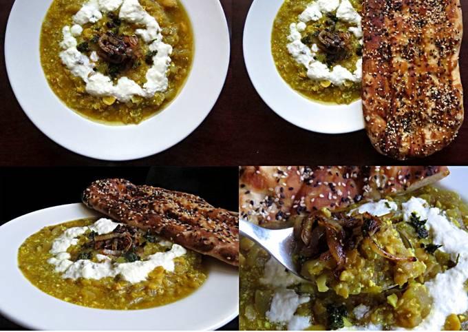 Easiest Way to Prepare Homemade Ash-E Bademjan | Persian Eggplant Soup