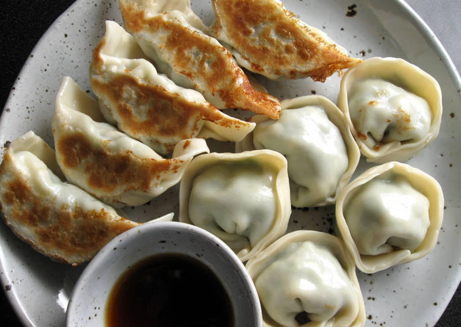 Prawn & Garlic Chives Gyoza