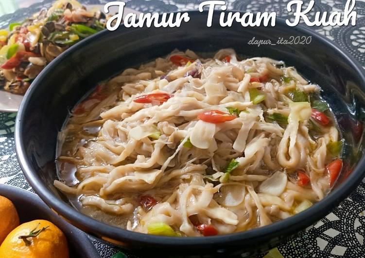 Jamur Tiram Kuah