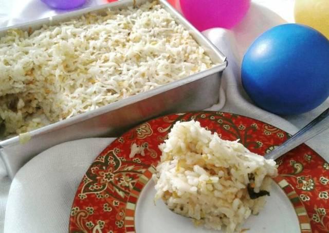 Nasi Panggang Sehat/ bekal anak