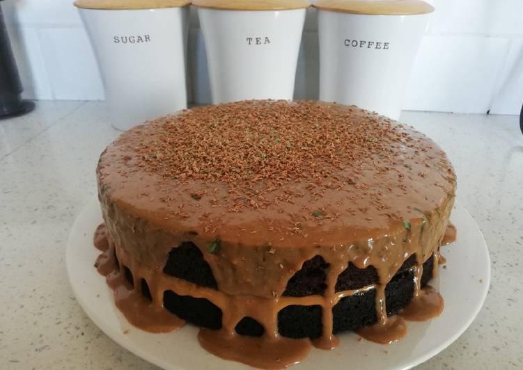 8min microwave chocolate cake