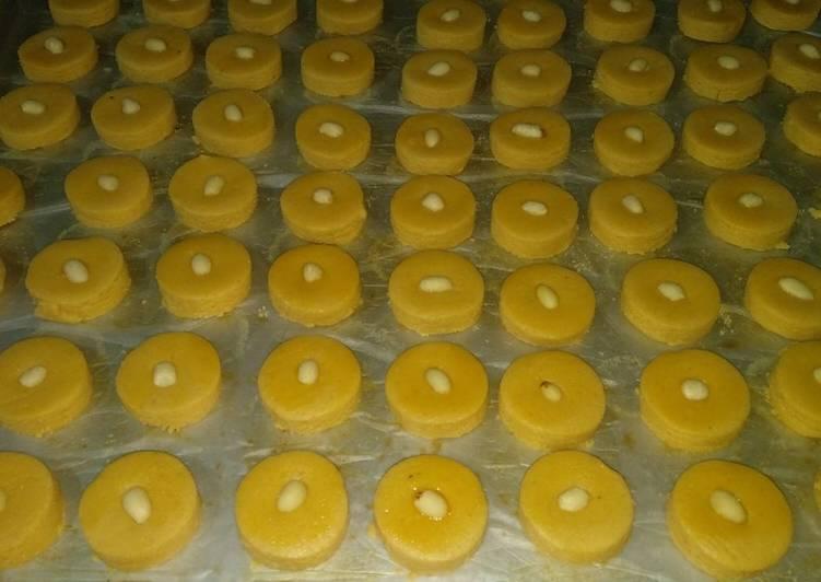 Kukis kacang dari selai kacang