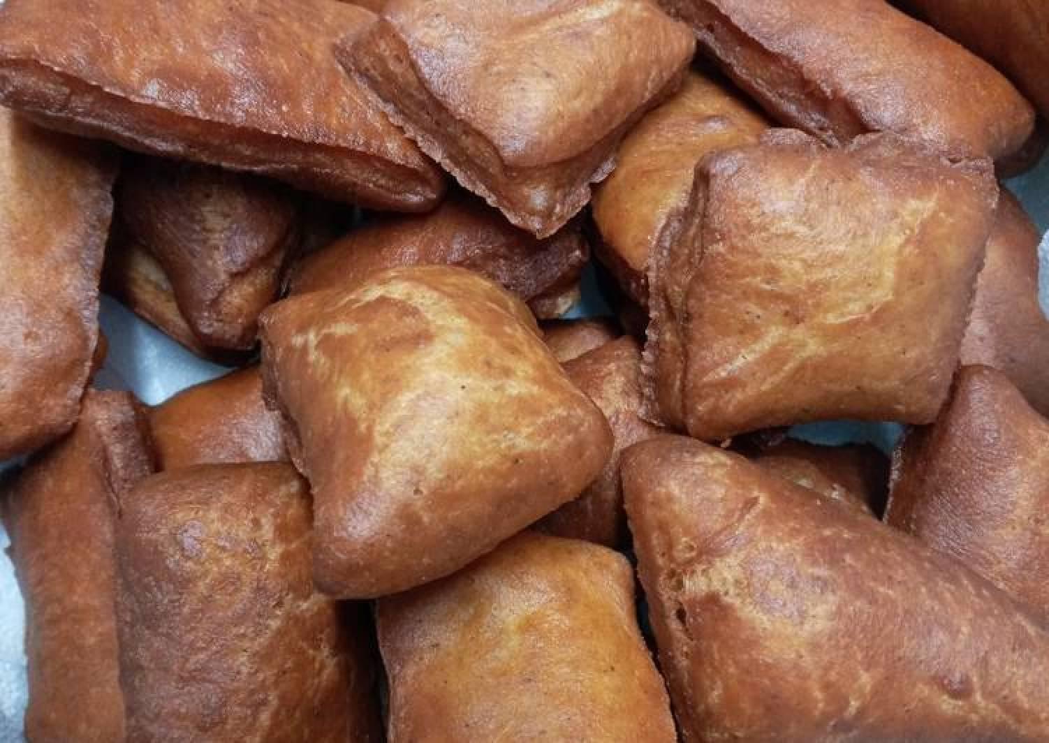 Cinnamon mini mandazi