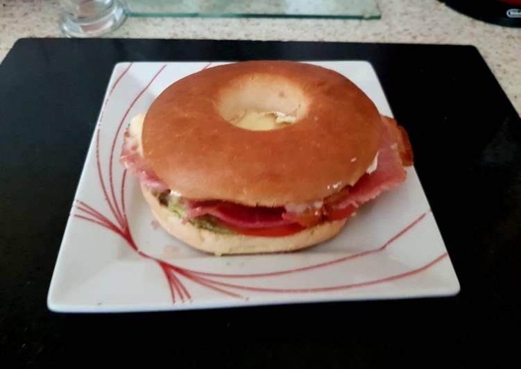 My Tasty Bagel Lunch