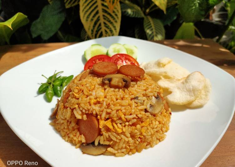 Nasi Goreng Merah ala Resto - Original Recipe by Chef Muhammad
