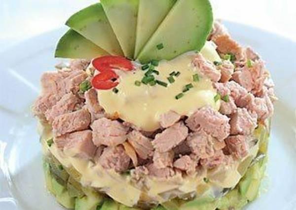 Салат из запеченного мяса - пошаговый рецепт с фото. Автор ...