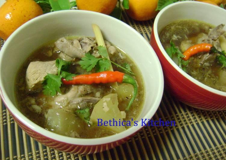 Chicken Binakol - Filipino Soup