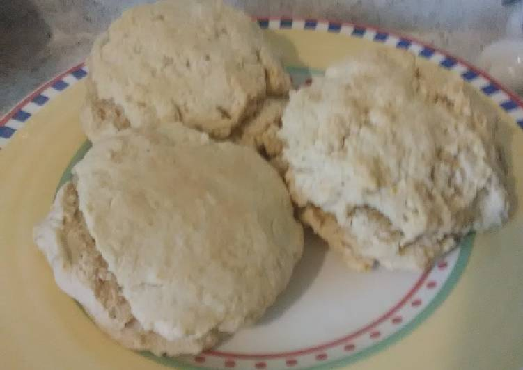 "Vegan ""Buttermilk"" Biscuits"