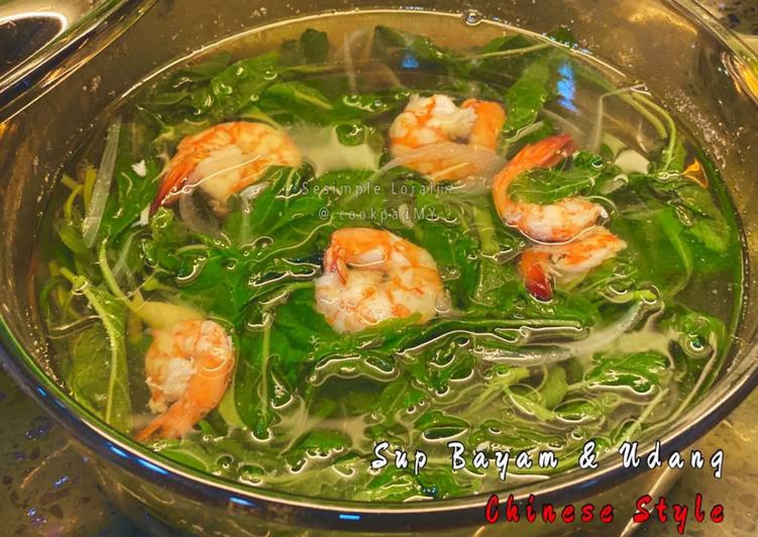 Sup Udang Dan Bayam Sup Sihat Eat Clean Rahsia Resepi Sedap Resepi Masakan Viral