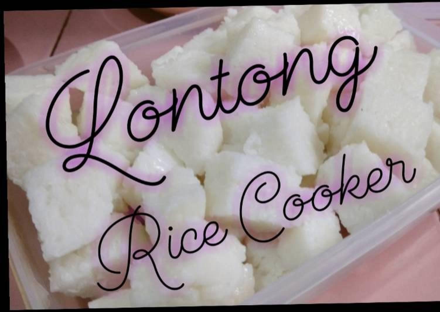 Looking for recipes that use a rice cooker? Resep Lontong Ketupat Rice Cooker Bikin Ngiler Resep Tren Harian
