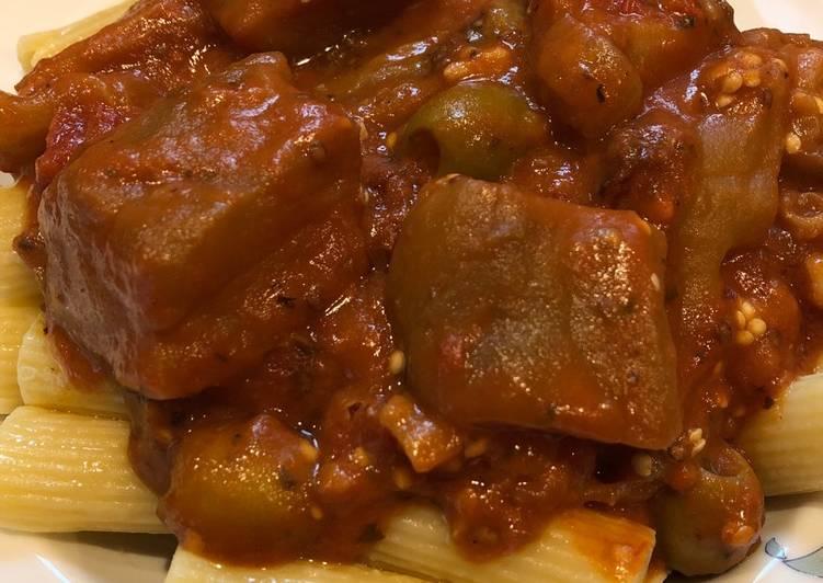 Crockpot Eggplant 🍆Caponata