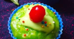 Fresh Creamed spinach steamed muffins