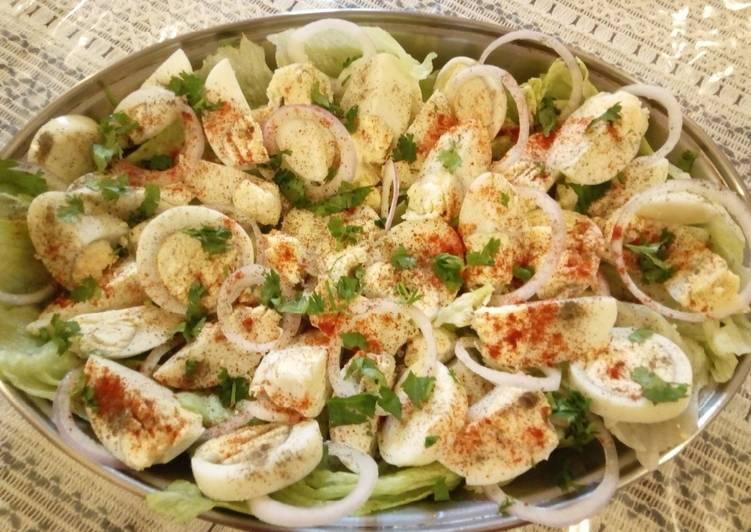 #SaladcontestBoiled Egg Salad