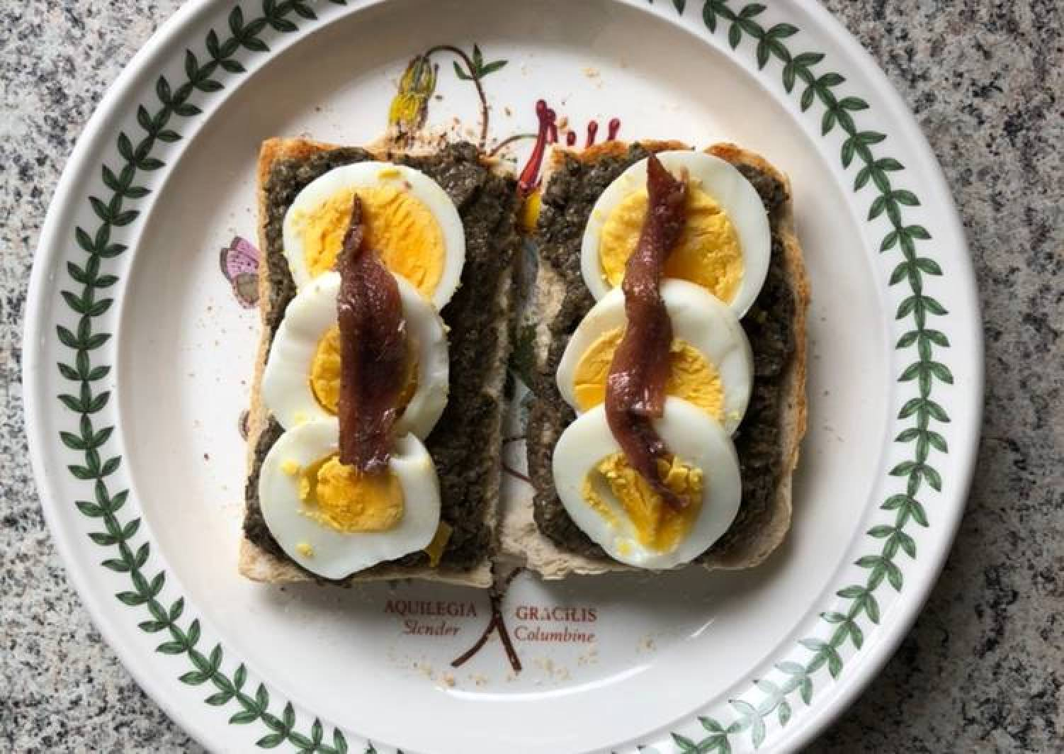 Anchovy & Caper Tapenade Nibble