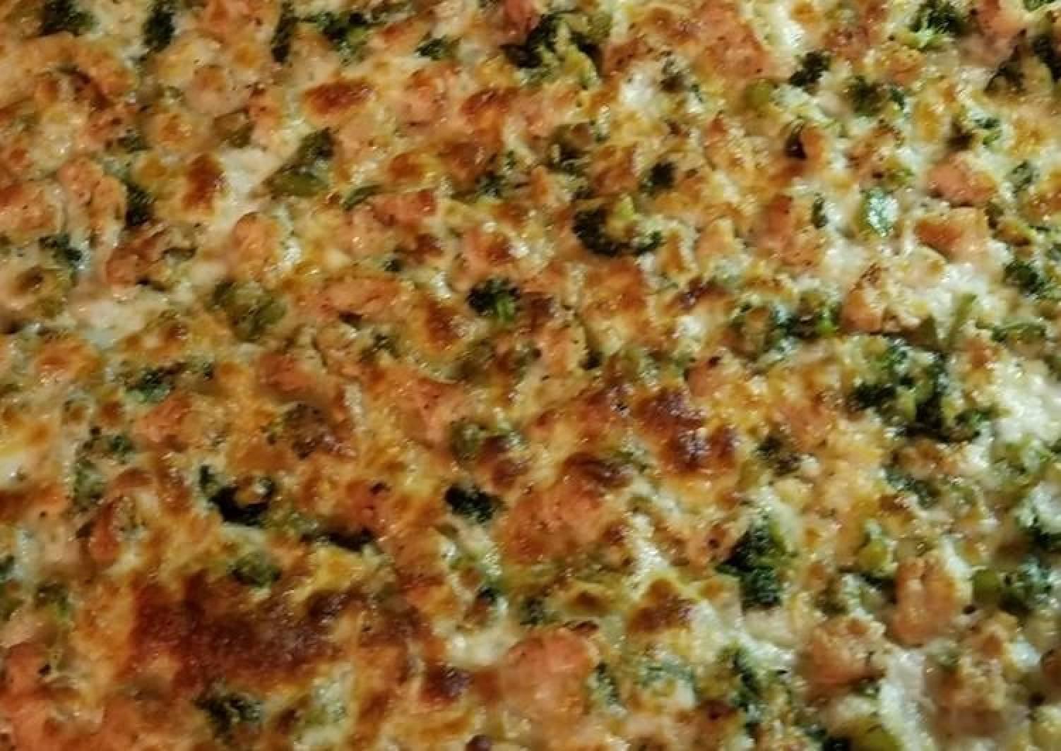 Sheik's Gourmet Pizza: Cajun Chicken Alfredo Pizza