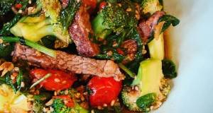 Ginger Beef  Broccoli