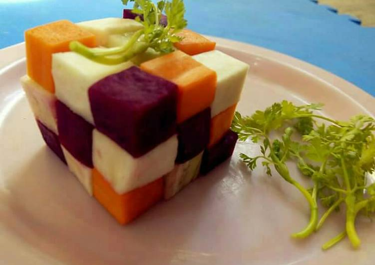 Easiest Way to Prepare Ultimate Cube winter special salad