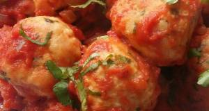 Vickys Chicken Meatballs in Tomato Sauce GF DF EF SF NF