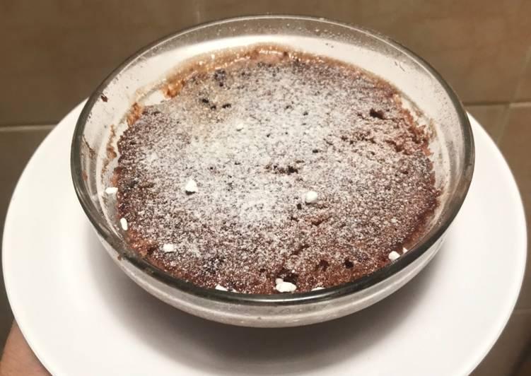 Microwave Milo Cake