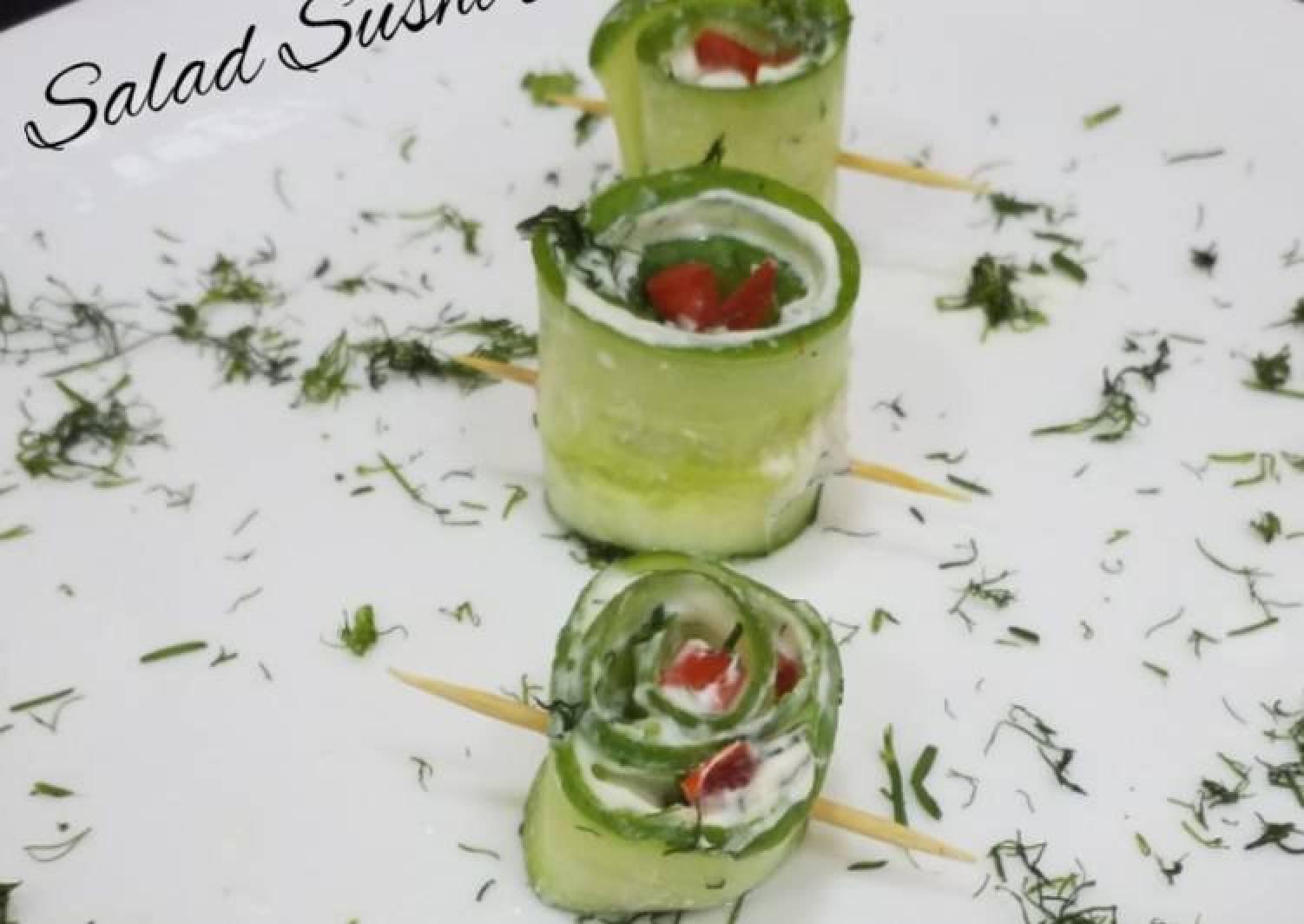 Salad Sushi Rolls