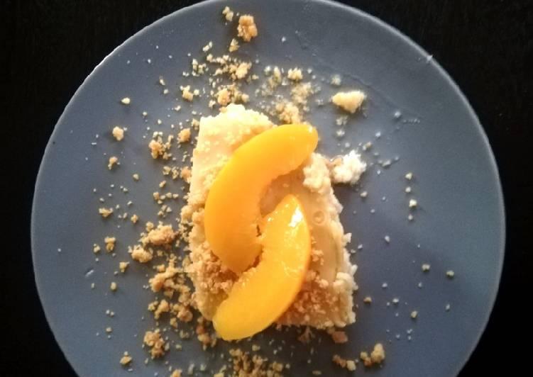 3 Ingredient Microwave Cheesecake