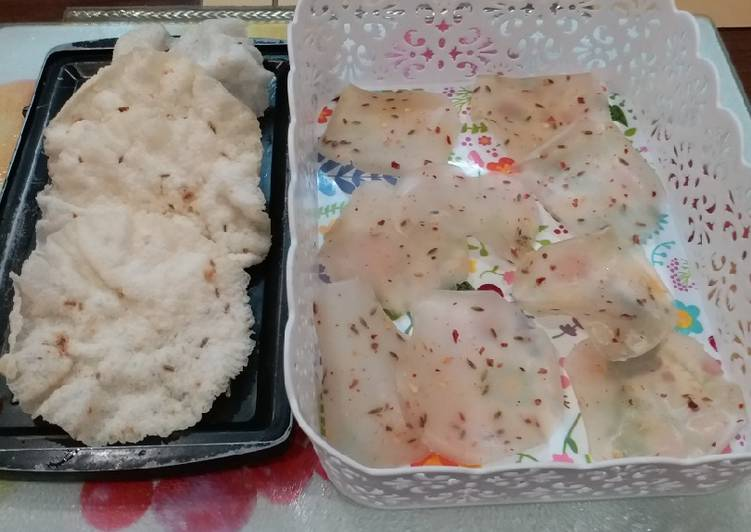 Steamed Rice Crispies