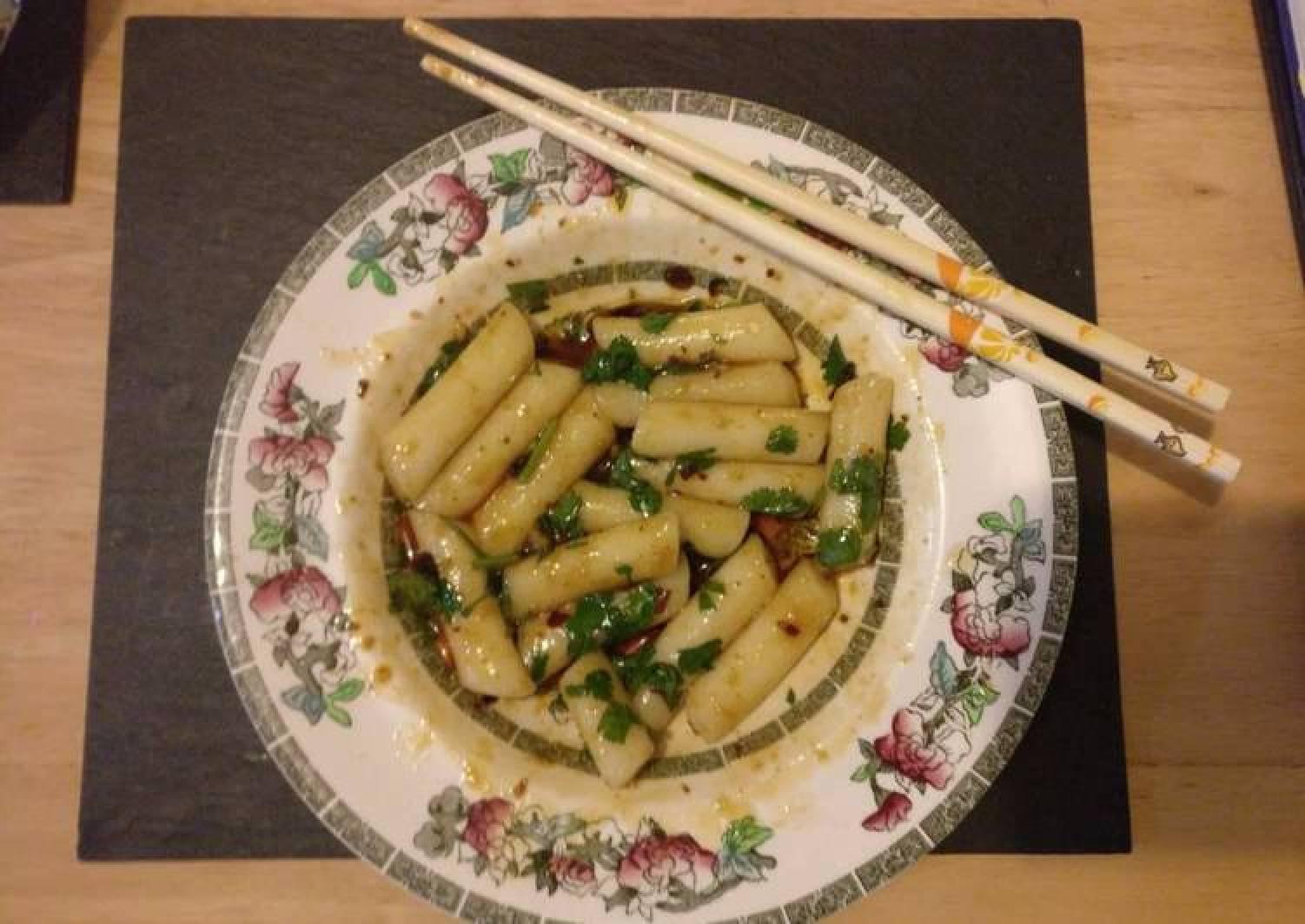 Chinese-Style Korean Niangao (Rice Cake)
