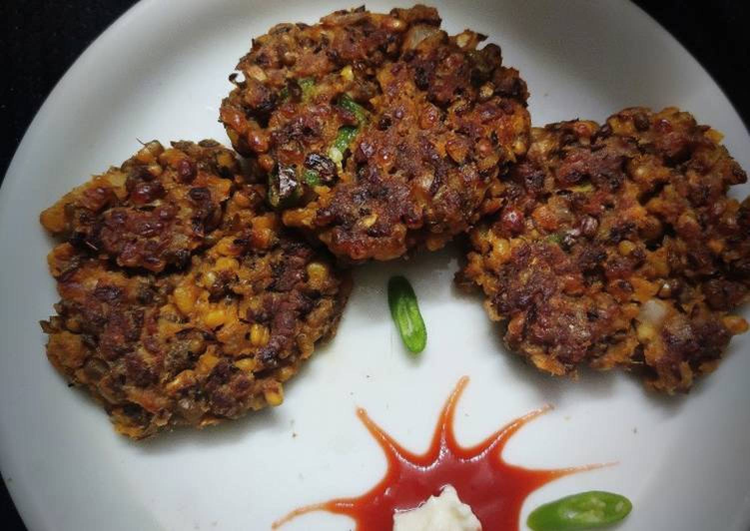 Green Moong Soya Kebabs