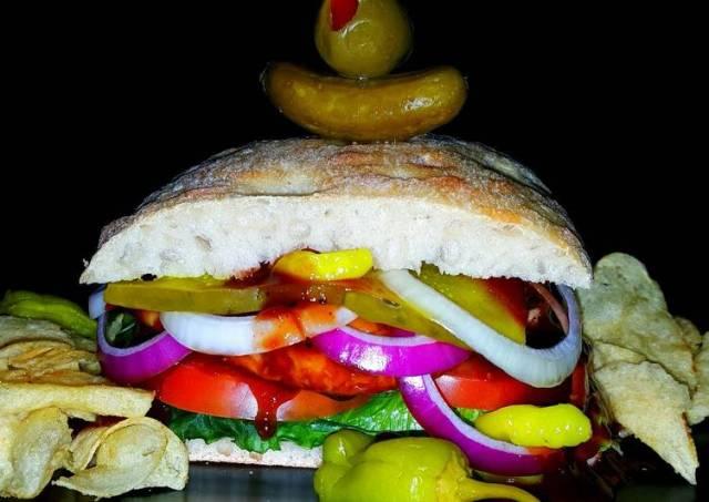 Mike's BBQ Chicken Sandwiches