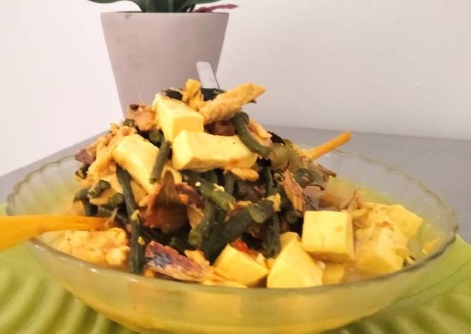 Mudah Banget Memasak Resep 102 Jangan Tahu Tempe Kacang Panjang Masakan Rumahan Resep Makan Harian