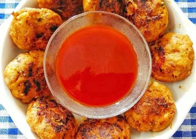 Chicken Keema Kebab