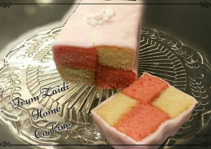 How to Make Perfect 🍰Battenberg Cake🍰