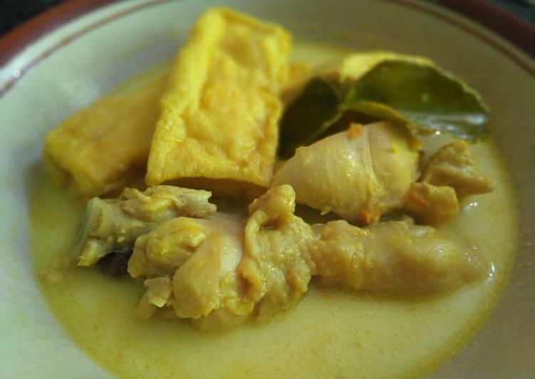 28. Opor Ayam Tahu Non MSG