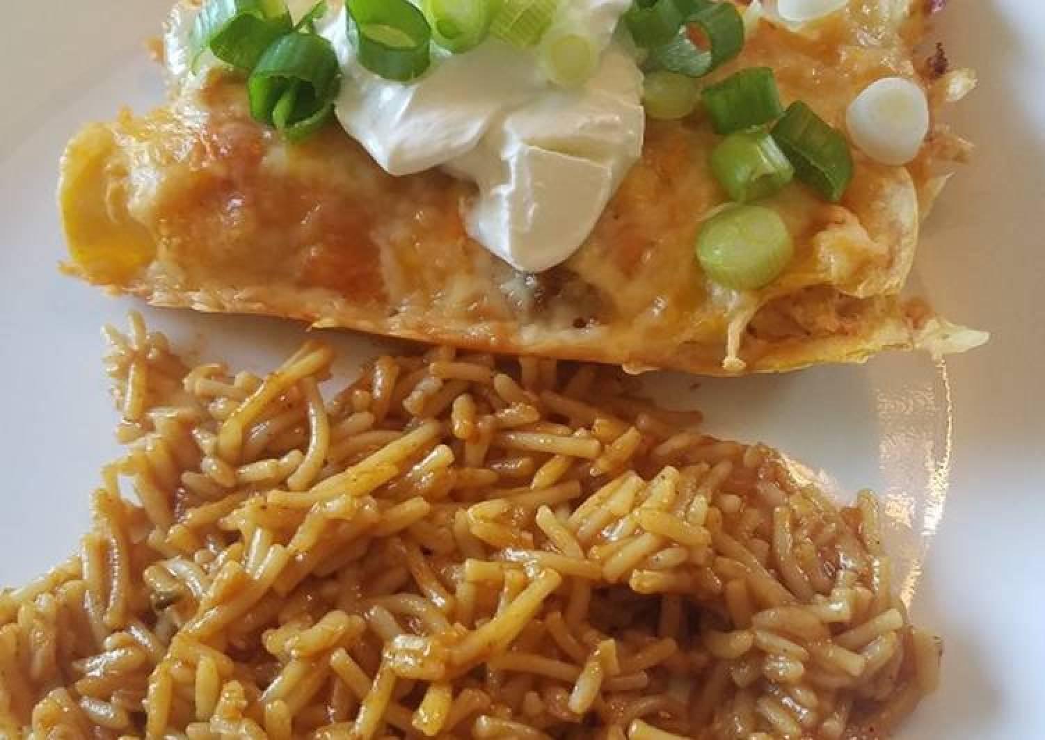 Baked Chicken Enchiladas