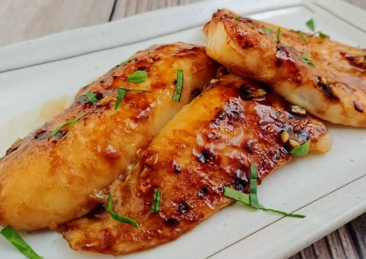 Thai Style Fish Fillets