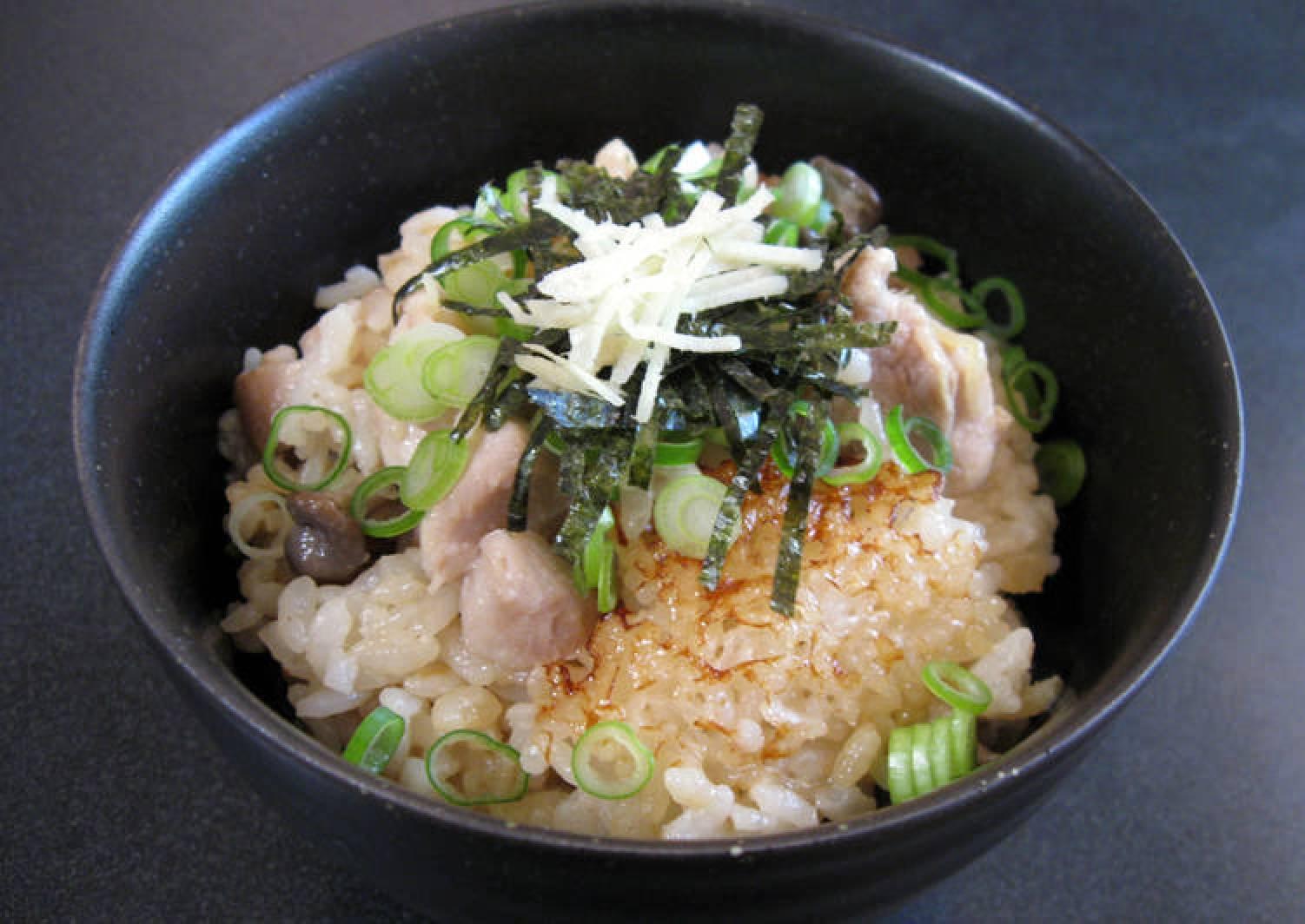 Ginger Chicken Takikomi Gohan