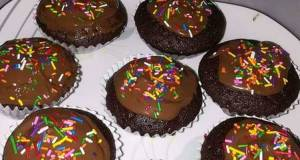 Nuttela Chocolate cupcakes
