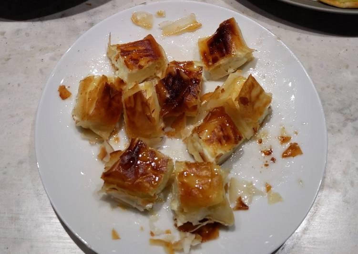 Fried Feta Parcels