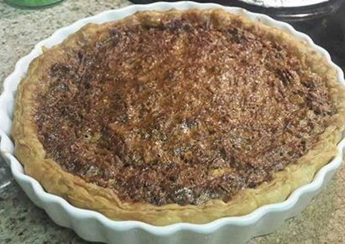 Pecan Pie (Pie de nueces Pecanas)