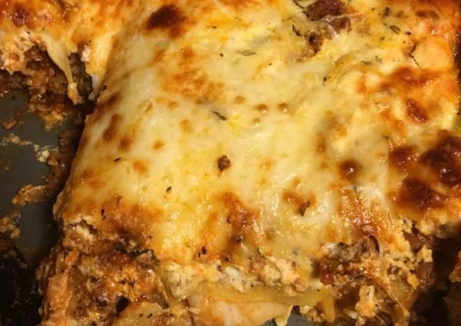 Easy Peasy Lasagna