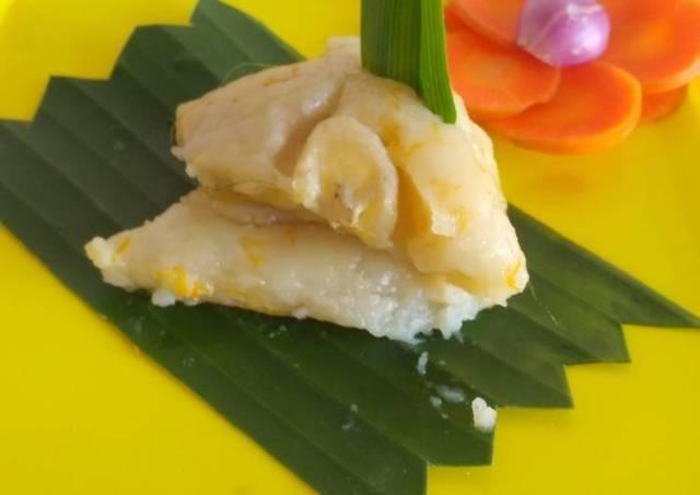Nagasari pisang wortel