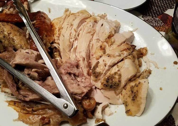 Roasted Turkey - Stuffed