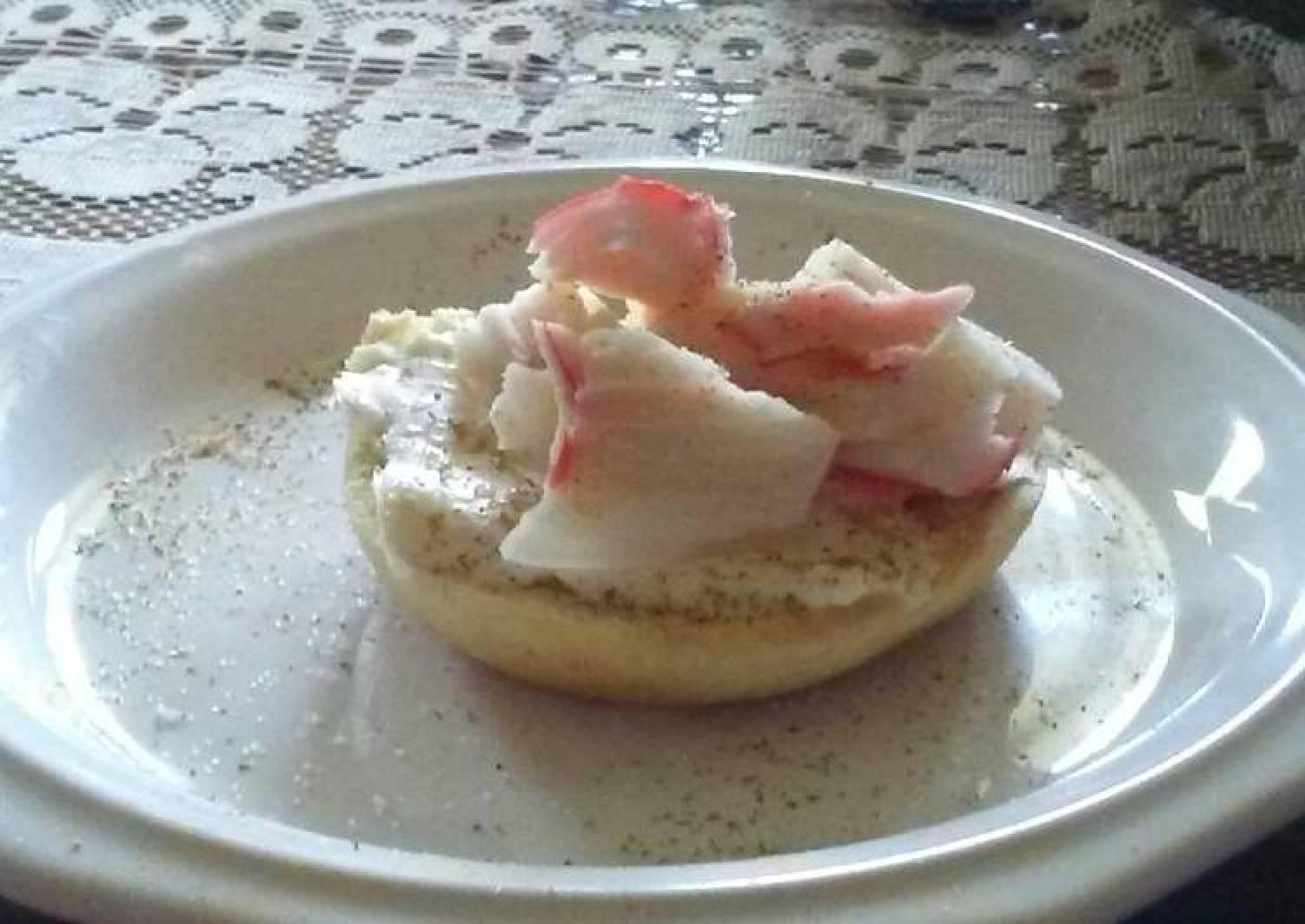 Crab delicious Bagels