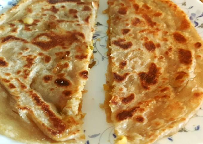 Recipe of Favorite Potato flat bread (Aloo Paratha)??