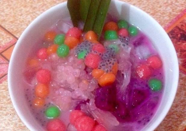 Es buah Pelangi with bubble#BikinRamadanBerkesan