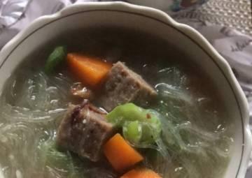 Resep Sup Bihun dan Daging, Menu Balita Top