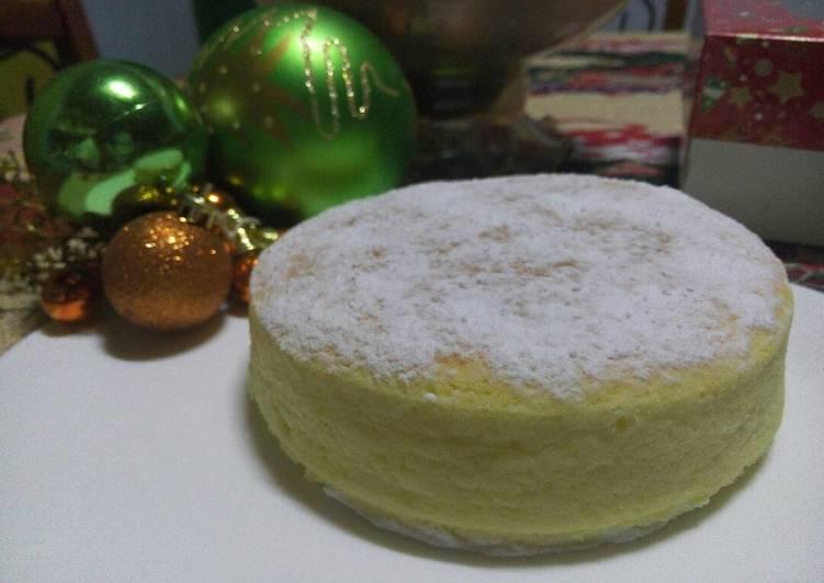 Easy Souffle Cheesecake
