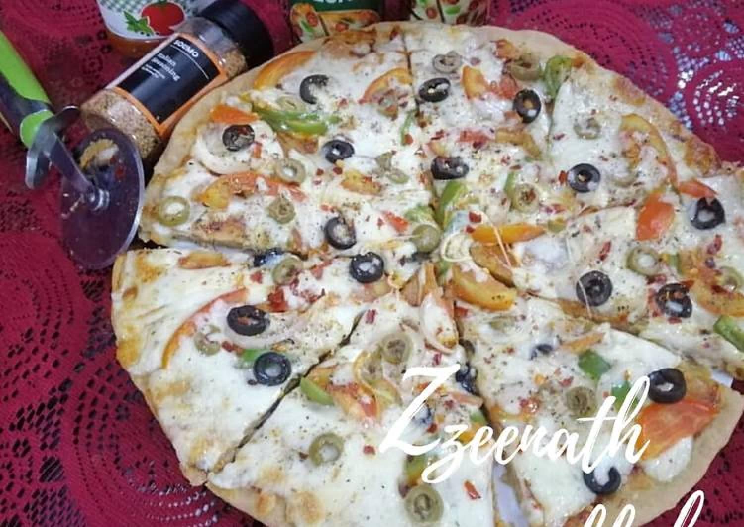 Whole Wheat Veg Pizza