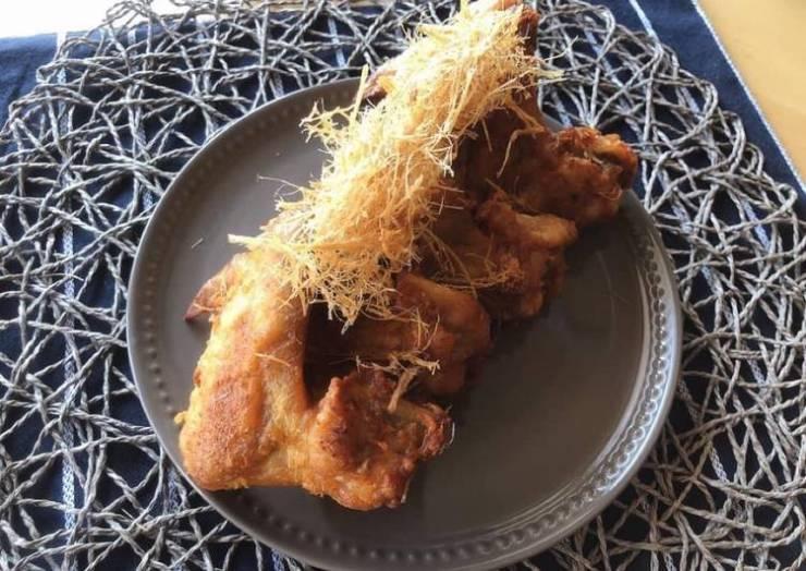 🧑🏽🍳🧑🏼🍳 Thai Recipe Chicken • Fried Chicken With Crispy Lemongrass |ThaiChef Food